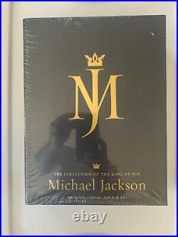 Michael Jackson Juliens Auction 5 Piece Box Set Catalogs in Hard case Rare