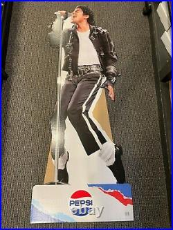 Michael Jackson King Of Pop Legend 6ft Pepsi Standee Cardboard Display Rare