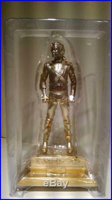 Michael Jackson King of POP Statue Figure Normai & Gold 2 Ver Set Rare Limited