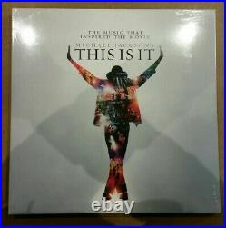 Michael Jackson LP This Is It Vinyl Limited Edition Rare! Sealed! Numbered