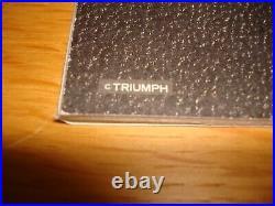 Michael Jackson Let's Be Friends Official Triumph Japan 1987 Gold Coin Mega Rare