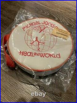 Michael Jackson -MJ- Heal the World First Aid RARE