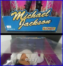 Michael Jackson MJ King of Pop Doll Figure Street Life 12 1997 AB Toys Rare Box