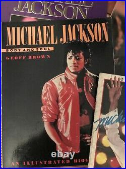 Michael Jackson Magazine Lot 8 Magazines Book Books Rare