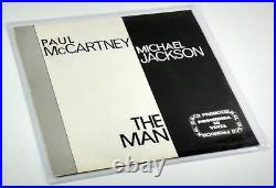 Michael Jackson McCartney 45 Spain PROMO N. MINT RARE unreleased THE MAN