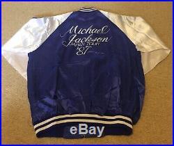 Michael Jackson Mega rare Japan Tour 87 Promo Jacket
