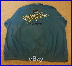 Michael Jackson Mega rare Japan Tour 87 Promo Staff Jacket