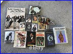 Michael Jackson Merchandise Vintage Collection Job lot HUGE BUNDLE RARE
