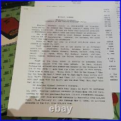 Michael Jackson Moonwalker 1988 Lorimar USA Press Kit Super rare