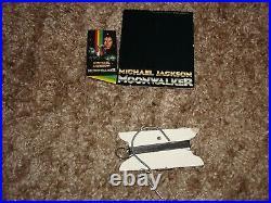 Michael Jackson Moonwalker 1989 Promo Displays Video Box Poster Unused MEGA RARE