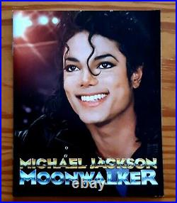Michael Jackson Moonwalker Blu-Ray Limited Ed. With T-Shirt And Booklet. Rare