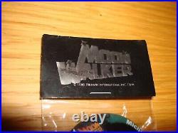 Michael Jackson Moonwalker Japan Badge Official Triumph International Mega Rare