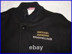 Michael Jackson Moonwalker Official 1988 Promo Jacket Mega Rare