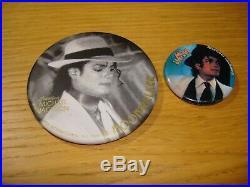 Michael Jackson Moonwalker Official Triumph International Japan Badge MEGA RARE