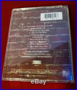 Michael Jackson OFF THE WALL Rare! Mini Disc MiniDisc MD Used