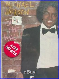 Michael Jackson Off The Wall Half Speed LP FACTORY SEALED RARE Remastered