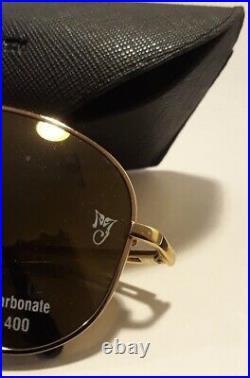 Michael Jackson Official Licensed Mjlogo Sunglasses Gold Ultra Rare Unworn New