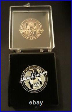 Michael Jackson Official Mj Logo Pin Ultra Rare Birthday Celebration Vip Promo