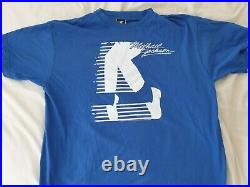 Michael Jackson Official Moonwalker T Shirt Rare Tour Limited Edition