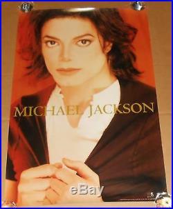 Michael Jackson Original 1995 Promo Poster 36x24 RARE