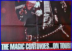Michael Jackson Original Advance Poster, Rare, 6ft x 6ft! Magic