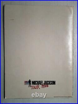 Michael Jackson Private Concert Souvenir Program. Rare