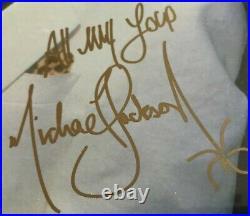 Michael Jackson/Quincy Jones RARE Signed Thriller Album WithVinyl & COA