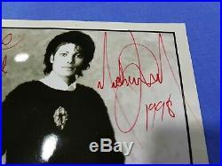 Michael Jackson Rare Autograph Signed Photo + Coa Certificate Of Authenticity