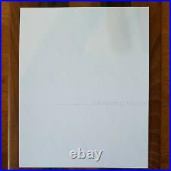 Michael Jackson Rare Autographed 8x10 Concert Photo