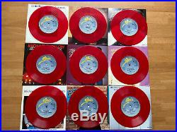 Michael Jackson Rare Limited Edition 9 Singles Pack Red 7 Vinyl