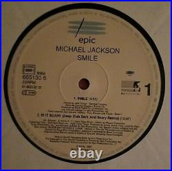 Michael Jackson Rare Smile Vinyl 12 Single 1997 Maxi