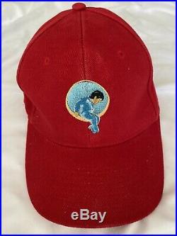 Michael Jackson Really Rare Orginal Cap Red Neverland Valley Ranch Fedora Signed
