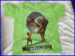 Michael Jackson Really Rare Orginal Tshirt Neverland Valley Ranch Fedora Signed