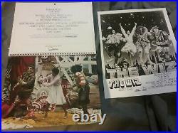 Michael Jackson Ross Pryor 1978 The Wiz Promo Lp Calendar Pix Nmint Rare Htf Vtg