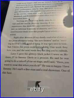 Michael Jackson SIGNED Book Page from Bestseller Moonwalk, 1988 RARE AUTOGRAPH