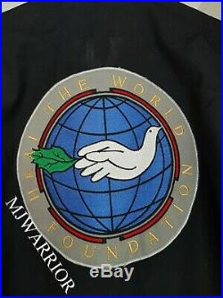 Michael Jackson STAGE WORN jumpsuit Dangerous world tour concert MEGA RARE SMILE