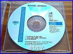 Michael Jackson Scream German Promo With Hidden Track. Rare