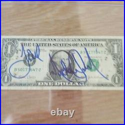 Michael Jackson Signed AUTOGRAPHED ULTRA RARE One Dollar Bill