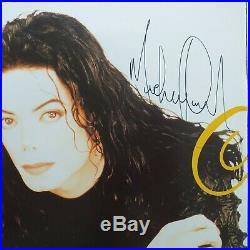 Michael Jackson Signed Autograph Programme History Tour Rare