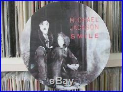 Michael Jackson - Smile Ultra Rare 12 Picture Disc Maxi Single LP