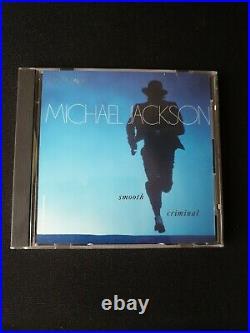 Michael Jackson Smooth Criminal EXTREMELY RARE DEMO PROMO US CD Single mix