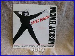 Michael Jackson Speed Demon (1989) Epic PRO 548 rare single 45 LTD. Vg/M