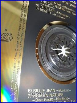 Michael Jackson THRILLER CD JAPAN 35.8P-11 WITH OBI 1 A3 Gold First Press RARE