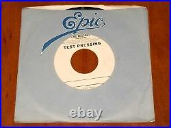 Michael Jackson The Jacksons Walk Right Now Rare 7 Test Pressing Vinyl 1-side