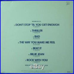 Michael Jackson The Sound Thriller Bad Billie Jean Rare 12 Promo LP NM