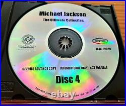 Michael Jackson The Ultimate Collection Promo 4 CD Set. Rare