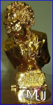 Michael Jackson Thriller 100% Authentic Ultra Limited Gold Bust #48/82 Rare