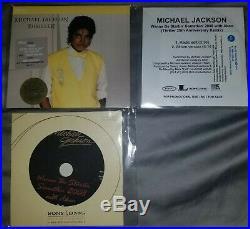 Michael Jackson Thriller 25 Lot Rare Sealed promo