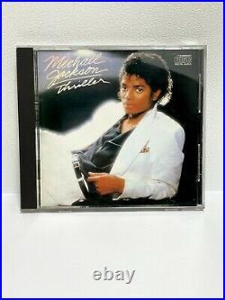 Michael Jackson-Thriller-35 8P-Japan CD-1st Press-CBS/Sony/Epic-Rare-McCartney