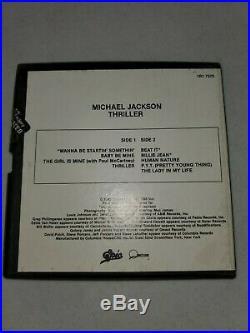 Michael Jackson Thriller 3-3/4 IPS Reel to Reel Tape Rare Original 1982 1R1 7576